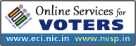 http://nvsp.in, National Voter's Service Portal(External link that opens in a new window)